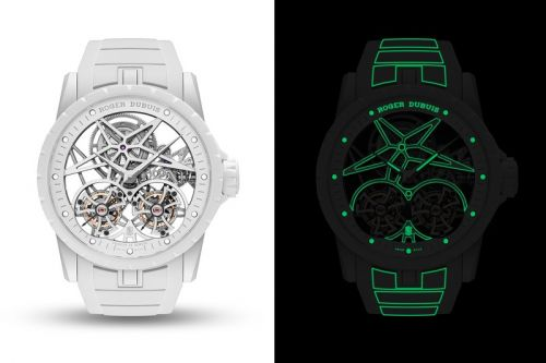 Roger Dubuis Unveils Double Flying Tourbillon Excalibur Twofold Watch