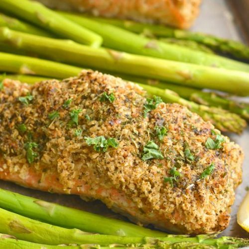 Oven Fried Salmon