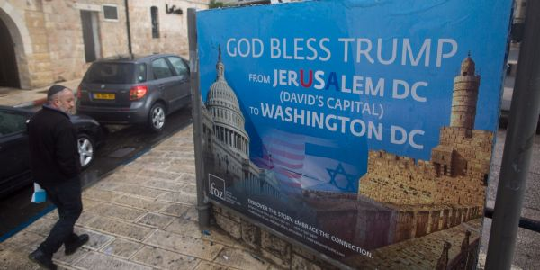 US asked Israel to restrain its response to the Jerusalem decision over fears of backlash towards US personnel