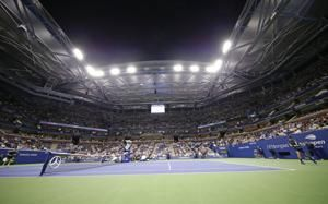 The Latest: Osaka to play Serena in US Open women's final