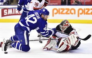 Nylander scores late in OT, Maple Leafs beat Devils 1-0