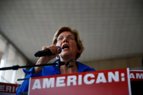 Elizabeth Warren accuses airlines and the Treasury Department of violating bailout terms as major airlines cut workers' take-home pay