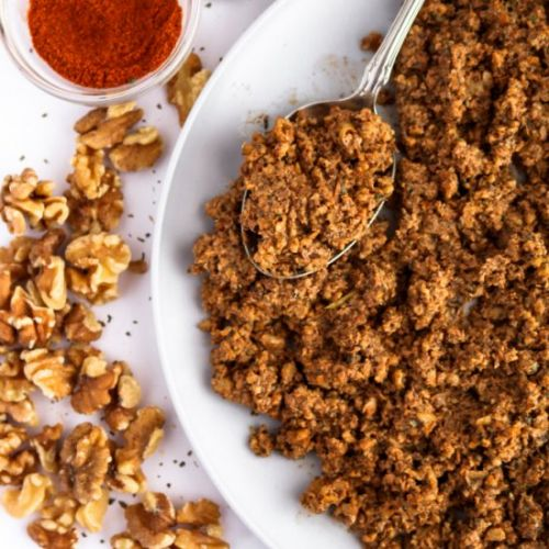 Spicy Beef-Style Walnut Meat