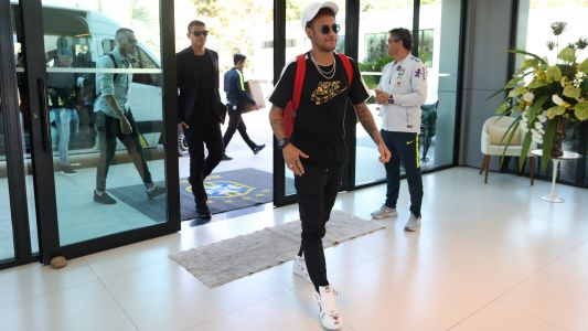 The World Cup starts now - Neymar and Brazil arrive at training camp