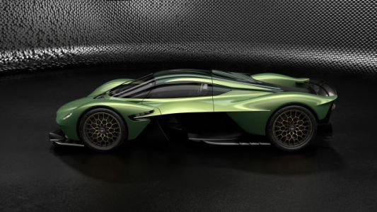 The Aston Martin Valkyrie Will Come With a Bunch of Options and Gold, Yes Gold