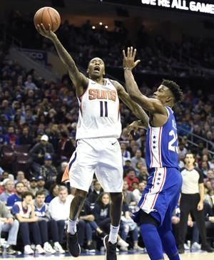 Embiid has 33 points, 17 rebounds as 76ers beat Suns 119-114