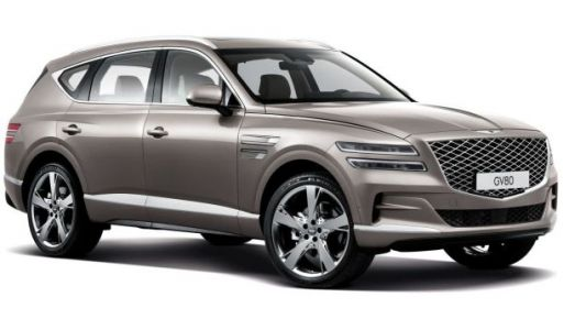 The New Genesis GV80 Boldly Targets, Uh, Lexus From 2008