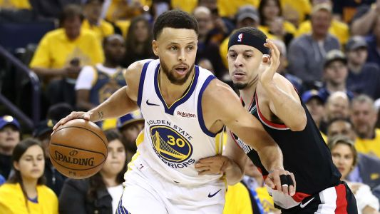 NBA playoffs 2019: Stephen Curry's shooting showcase helps Warriors top Trail Blazers