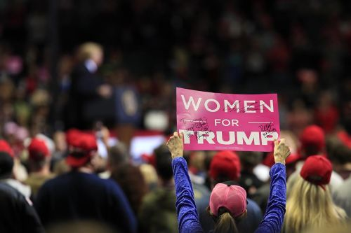 Trump campaign says 'female forward' approach boosts donations from women