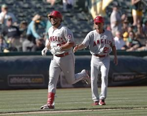 Busy day lands Angels' Arcia in baseball record books