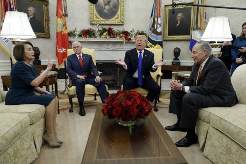 To avoid shutdown, White House says Trump willing to work with Congress over border wall