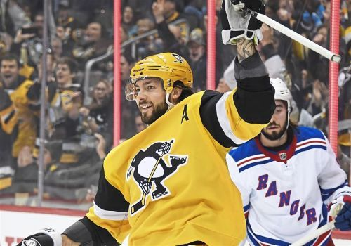 Penguins back in playoff position after 6-5 win against Rangers