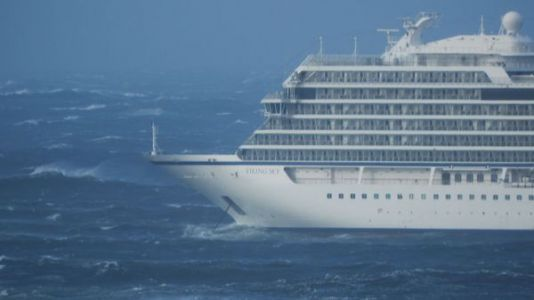 Passengers Rescued From Disabled Cruise Ship Off Norway's West Coast