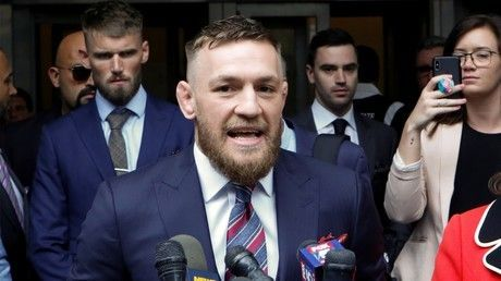 McGregor settles out of court with security guard who wanted $95K after being 'hit by drink can'