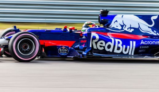 F1 Stand-In Brendon Hartley's Helmet Kept Trying To Twist Backwards On His Head