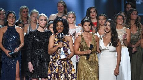 Larry Nassar sex abuse victims honored with Arthur Ashe Courage Award