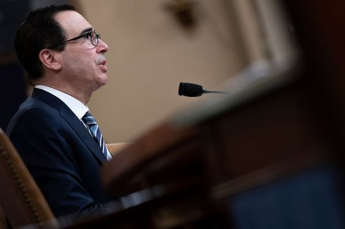 Mnuchin says his tax rate went up in wake of GOP tax law