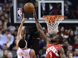 Siakam scores winning basket, Raptors beat Suns 111-109