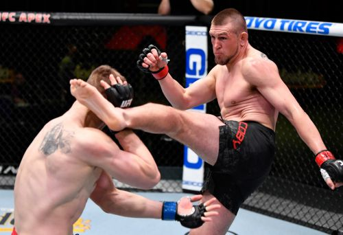 Ciryl Gane declares himself 'legit,' ready for title after UFC Fight Night 186 win