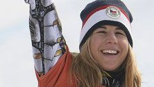 Ester Ledecka Makes Olympic History With Snowboard Gold