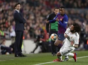 Once indisputable, Real Madrid's Marcelo a target of critics