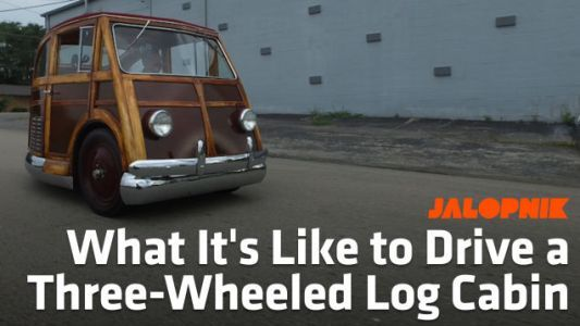 This Three-Wheeled Log Cabin Of A Car Was Supposed To Be Everywhere