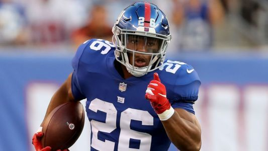 Saquon Barkley injury update: Giants rookie running back 'day-to-day' with tweaked hamstring