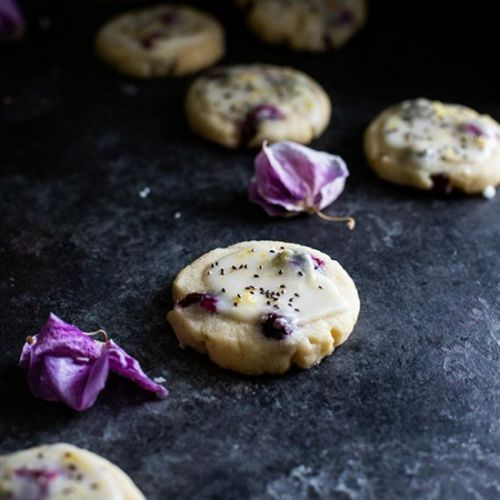 Chia Lemon Blueberry Cookies