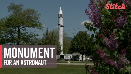 New England town pays tribute to America's space achievements with unusual monument