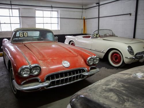 36 rare vintage Corvettes found in a Manhattan garage after they were abandoned for decades will be raffled off for charity