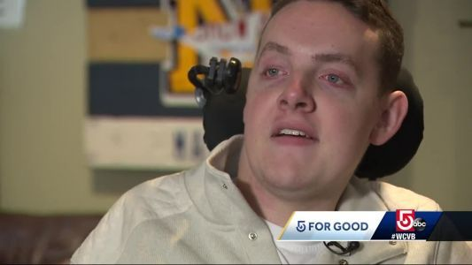 Paralyzed Mass. high school hockey player Matt Brown inspiring others to never quit