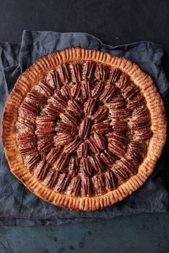Maple-Pecan Pie with Shortbread Crust
