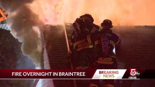 Fire rips through Braintree business