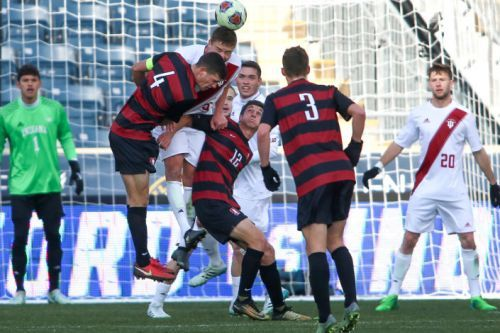 Men's soccer claims its third consecutive NCAA title