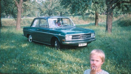 Back in 1965 this was the first car from Ingolstadt to feature four-stroke internal combustion