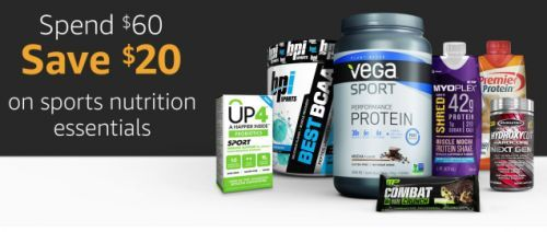 Amazon's Running One of the Best Supplement Sales We've Ever Seen