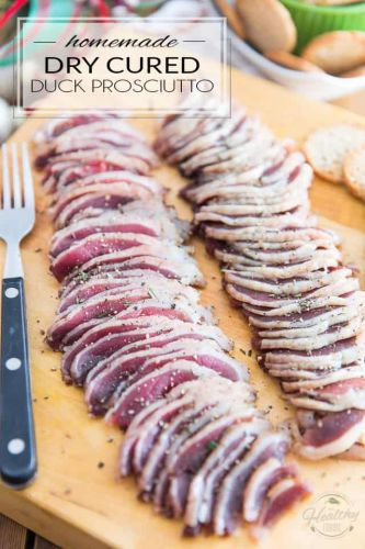 Homemade Dry Cured Duck Prosciutto