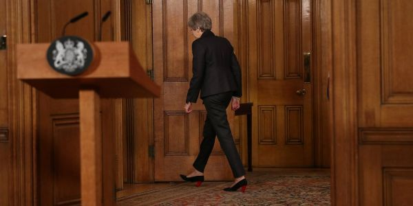 Theresa May has now pushed Britain right to the point of a no-deal Brexit