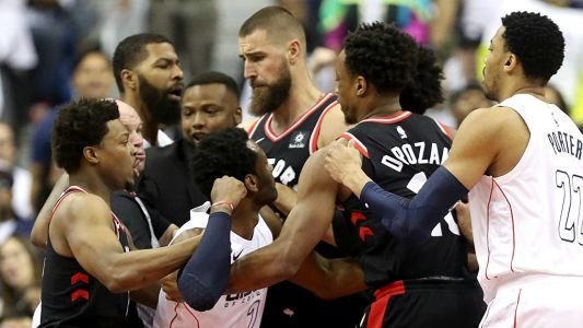 NBA playoffs 2018: Tensions between Wizards, Raptors run high in Game 3