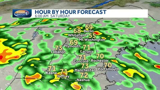 Fay could bring 1-2 inches of rain for some in NH