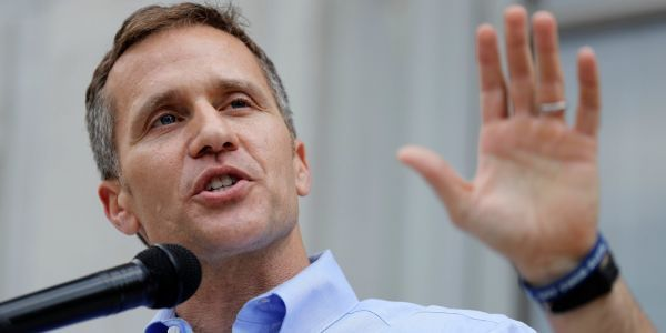 Republican Missouri governor accused of blackmail during extramarital affair