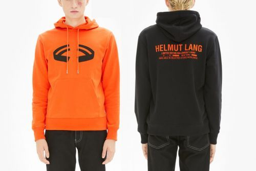 Helmut Lang's Halloween Capsule References Its Archive Graphics