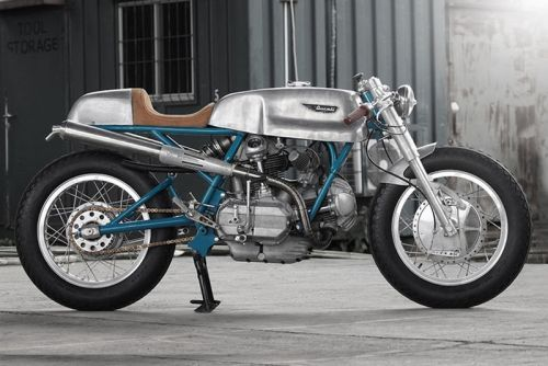Sabotage Cycles Strips Back the Ducati Imola 750 for Its Custom Café Racer