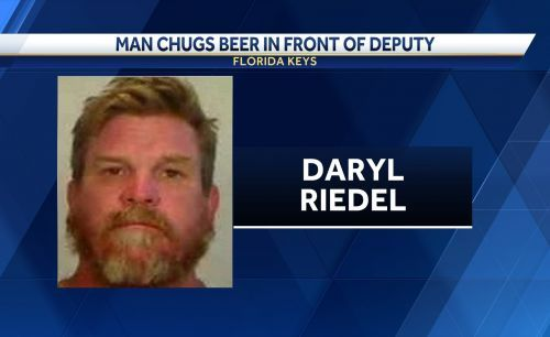 Police: Florida man chugged can of beer during DUI stop