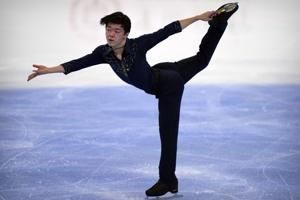 Japanese figure skaters win Olympic test event in Beijing