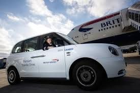 Electric cab service introduced at Heathrow