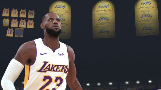 'NBA 2K18' shows LeBron James only turns Lakers into fringe playoff contender