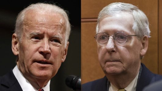 Joe Biden: Mitch McConnell 'wanted no part' of bipartisan condemnation of Russians in 2016