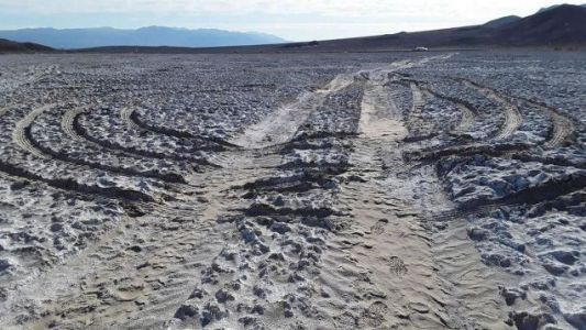 Inconsiderate Assholes Are Damaging Parts Of Death Valley