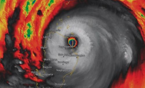 While Florence pummels US, super Typhoon Mangkhut makes landfall in the Philippines